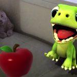 The virtual pet dragon in AR Dragon