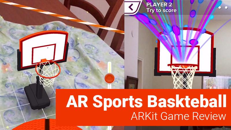 AR Sports Basketball game screenshots