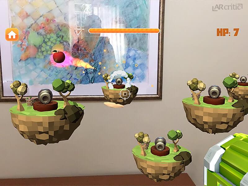 AR Fruit game screenshot