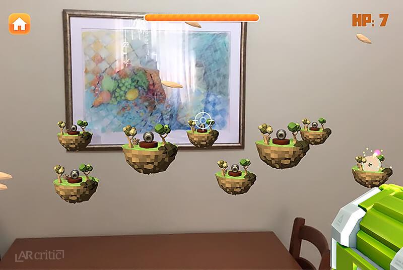 AR Fruits game level screenshot, Level 7