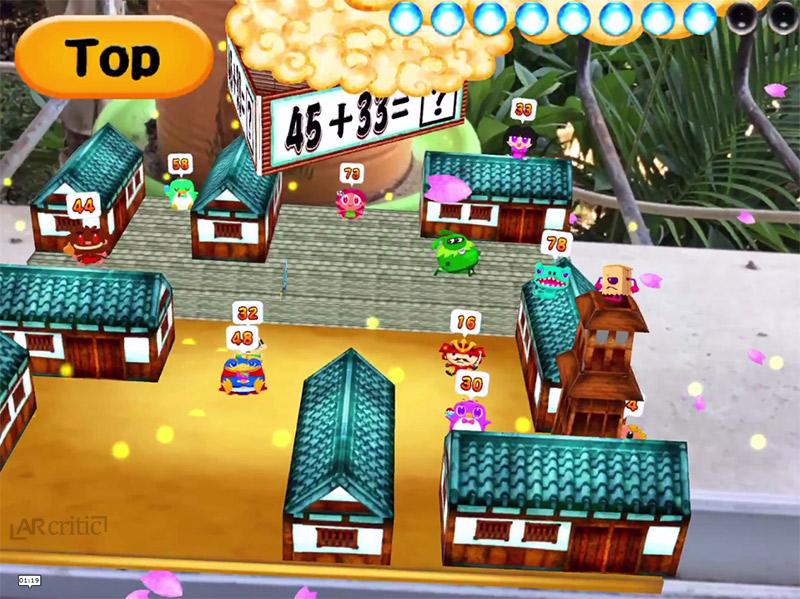 math ninja ar game screenshot