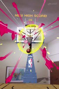 NBA AR App new high score