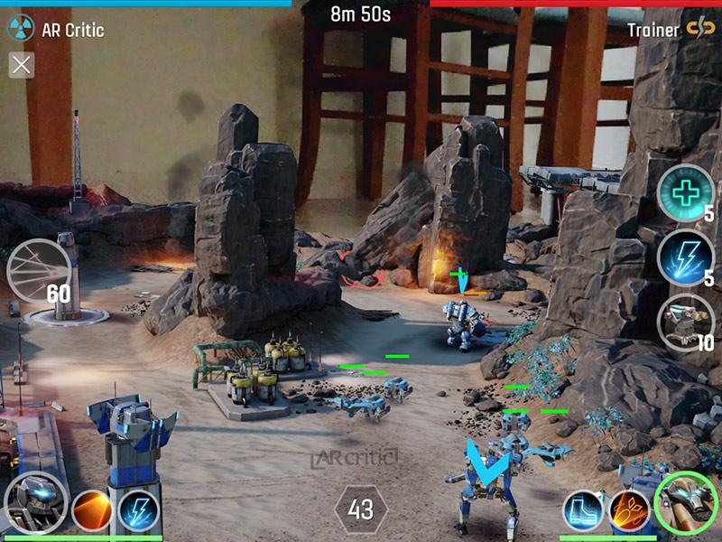 The Macines ARKit game screenshot