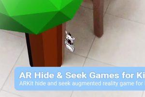 AR Hide & Seek Games for Kids Review