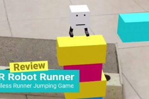 AR Robot Runner Review