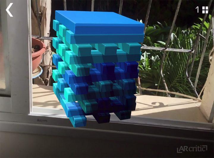 Blocks Tower AR screenshot