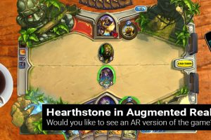 Hearthstone in AR – Will it become an Augmented Reality?
