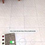 Infinite floor feature in Playground AR app