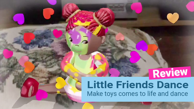 Little Friends Dance iOS game