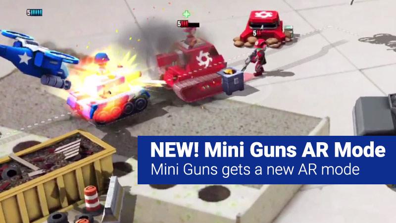 Mini Guns AR Mode