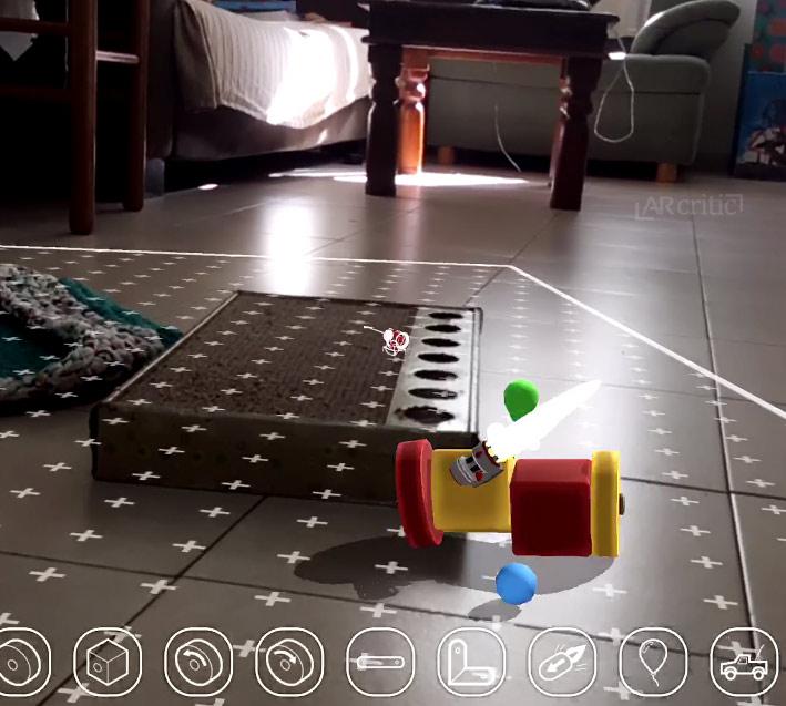 Playground AR app screenshot