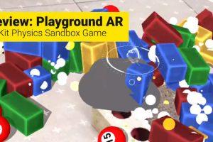 Playground AR Review (ARKit)