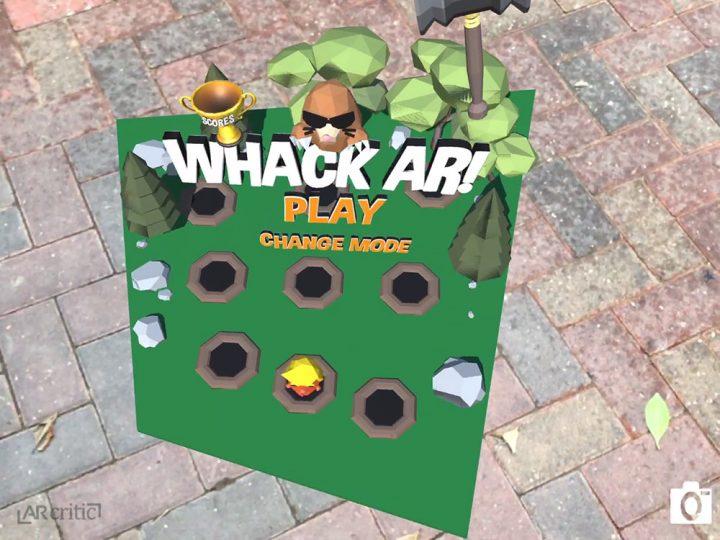 Whack AR! wierd perspective