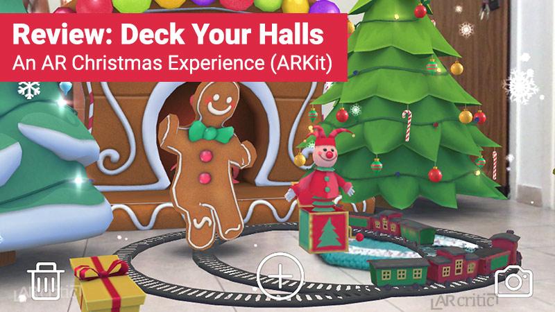 Deck Your Halls app
