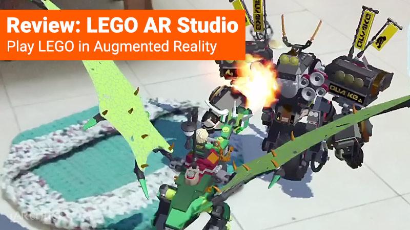 Lego AR Studio app
