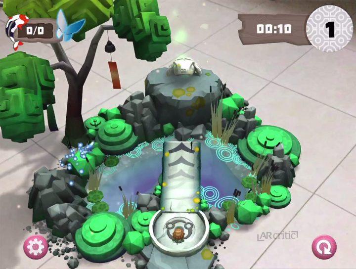 3D Trees and little lake, Orbu game screenshot