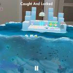 Waddle Home AR game screenshot