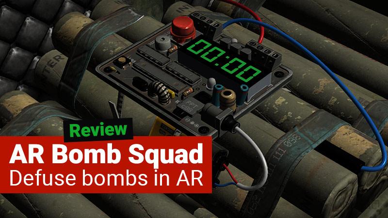 AR Bomb Squad game