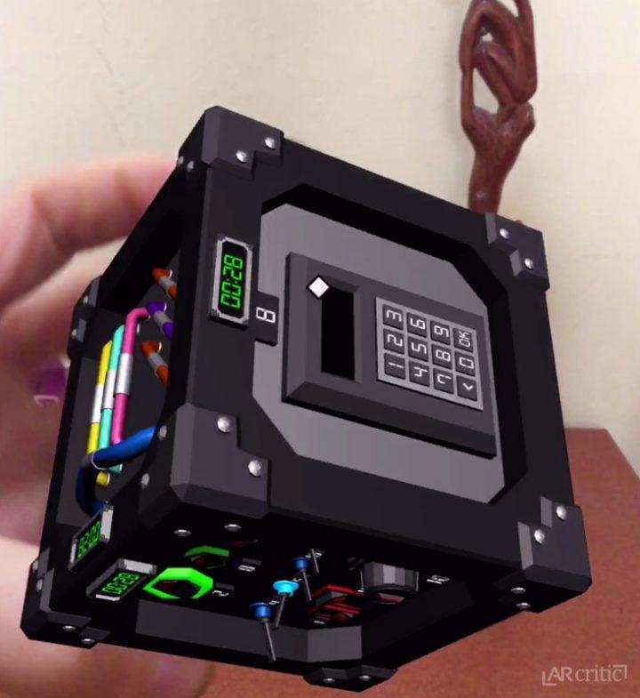Defused! AR Merge Cube game