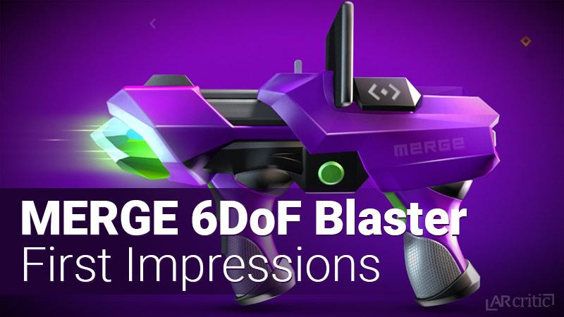 Merge 6DoF Blaster Nerf-like gun