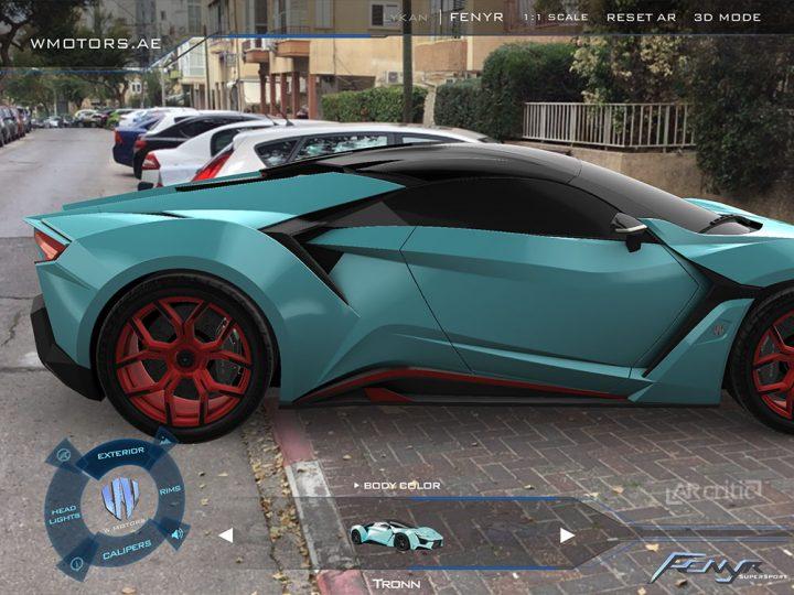 Beautiful 3D car render