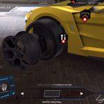 Car wheel structure