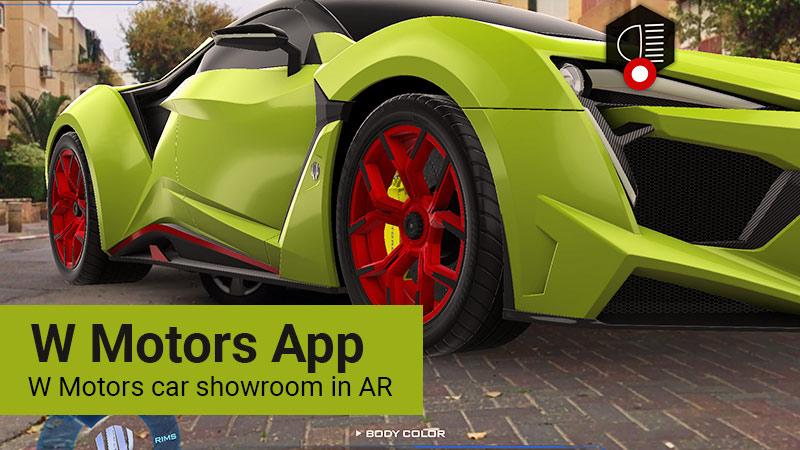 W motors app
