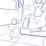 Custom sketch using SketchAR app