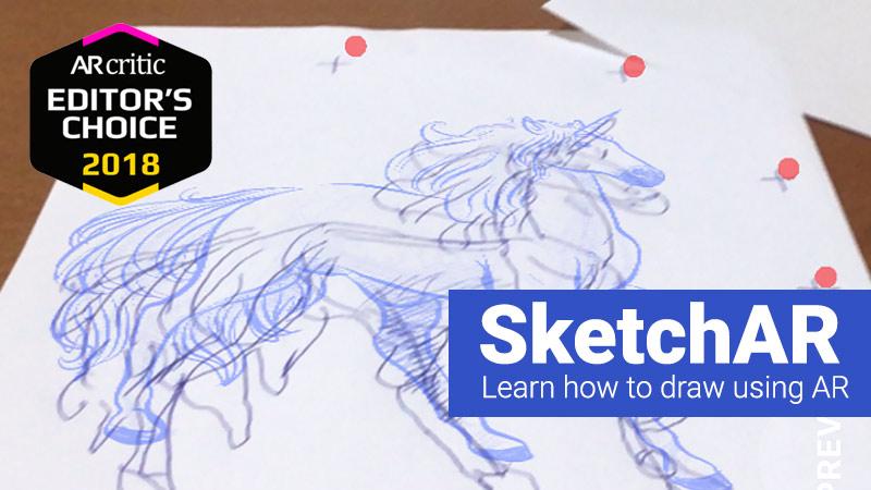 SketchAR app