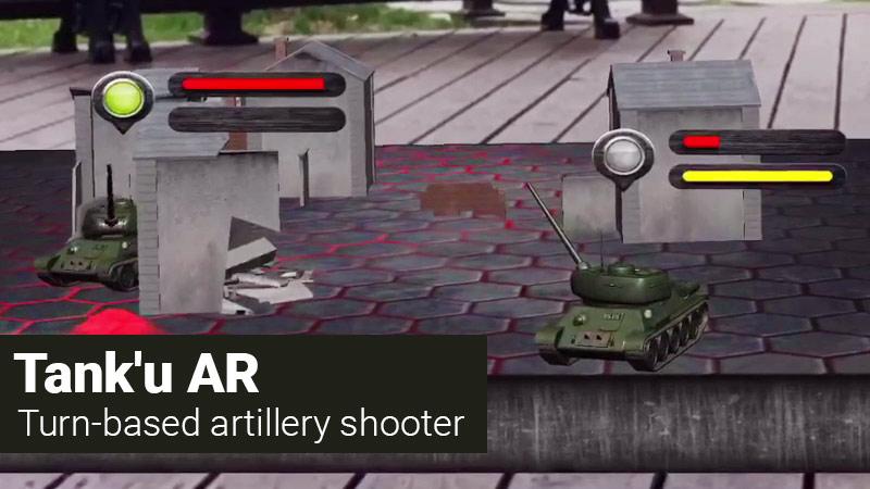Tank U artillery shooter mobile game
