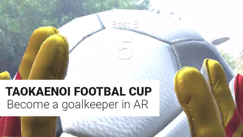 Goalkeeper in AR
