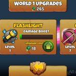 The Creeps 2 upgrade item screen