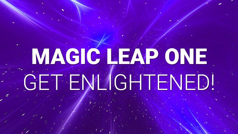Magic Leap One enlightened