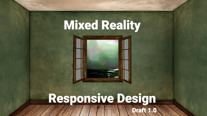Mixed Reality responsive design