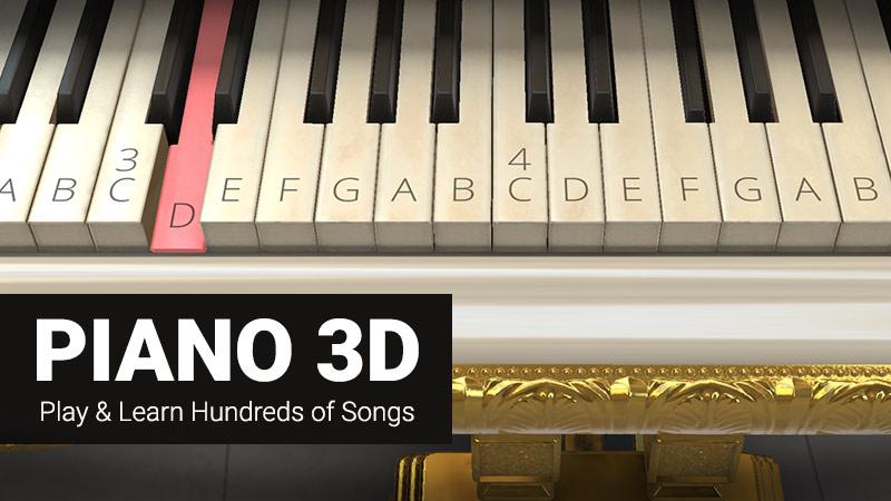 Piano 3D App