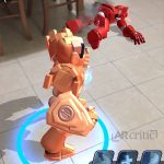 Winning in AR Robot iOS game