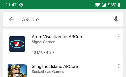 Google Play, no sorting option