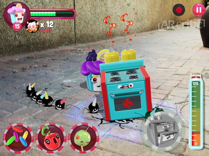Pest Invasion AR game screenshot