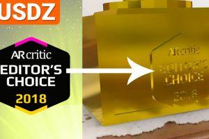 How I've Created AR Critic Trophy (2D/3D/USDZ Embed /AR Quick Look)
