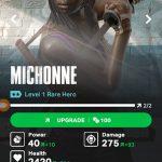 Michonne rare hero