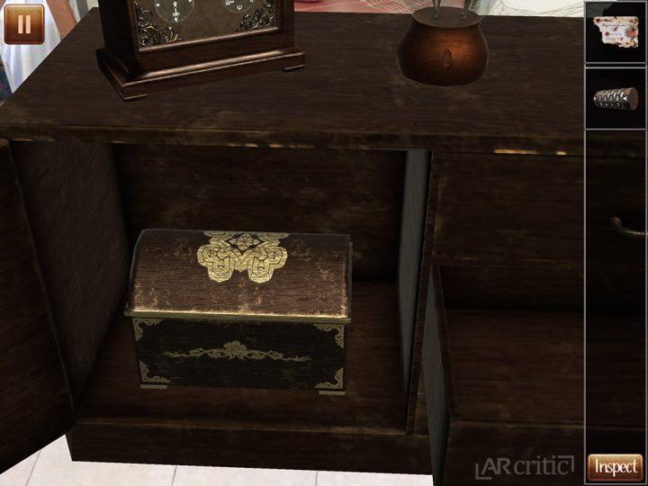 Found the hidden chest