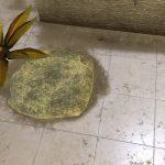 virtual sand on the floor