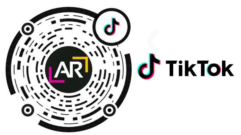 AR Critic Tik Tok profile QR code