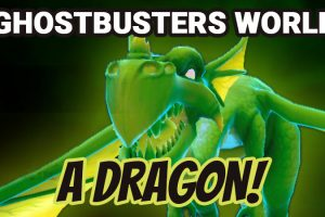 Ghostbusters World – Capturing a Very Rare Dragon!