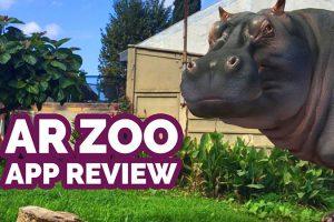 AR Zoon Animal World – Realistic-looking Virtual Animals in AR
