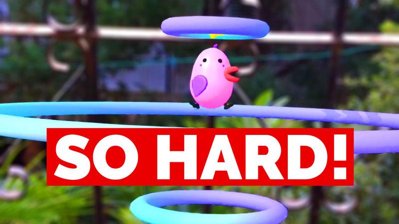 Hard mobile game