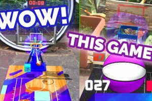 Free Throw AR – Crazy Hoop Shooting AR Game
