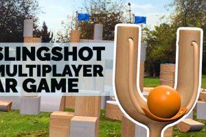 CatapultAR – Slingshot Local Multiplayer ARKit Game