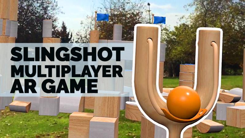 slingshot AR game