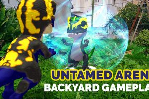 Playing Untamed Arena in the Backyard and some Thoughts